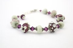 braceletpurpleflowers